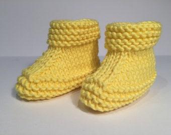 Lemon Baby bootie.