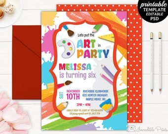 Girl First Birthday Invitation Template Printable Gold - 1st birthday invitation template girl