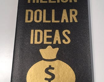 Million Dollar Ideas Notebook/Journal/Idea Book