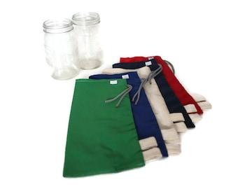 Bags in bulk 2 L - bags for food in bulk - reusable bag