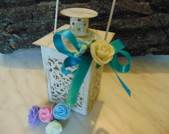 Set of 6 Mini Lanterns,Wedding Candle Holders,Wedding Centerpiece ,Moroccan Mini Lanterns,Rustic Lantern,Home Decor,Lanterns