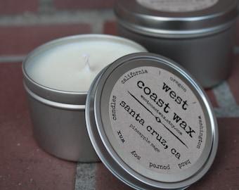 Tin 8 oz Soy Candle