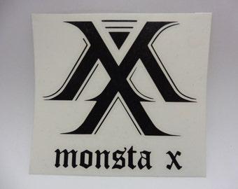 MonstaX Decal