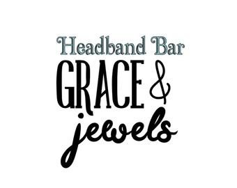 Hair Bow Holder Add-On:  Headband Bar