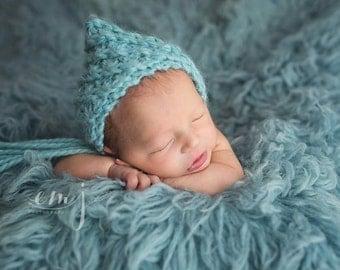 Newborn Pixie Bonnet - Photo Prop