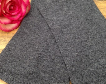 Mitts made from the softest grey merinowool  in Size S / M / L