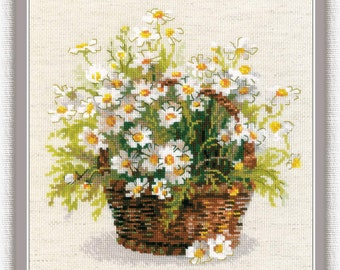 "Counted Cross Stitch Kit ""RIOLIS"" - ""Russian Daisies"""