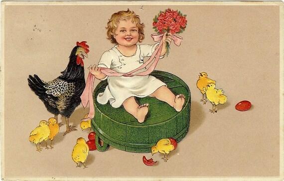 """Résultat de recherche d'images pour """"carte postale poules"""""""