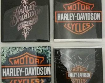 Harley Davidson Coasters,  Man Cave Coasters,  Coasters