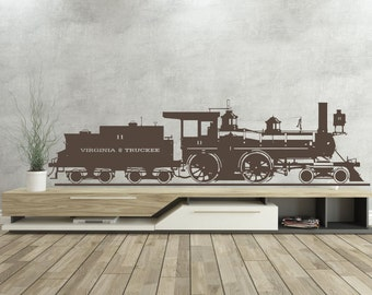 Travel on this steam train - Wall Decal