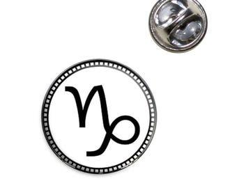 Zodiac Sign Capricorn Lapel Hat Tie Pin Tack