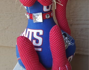 New York Giants Football cat