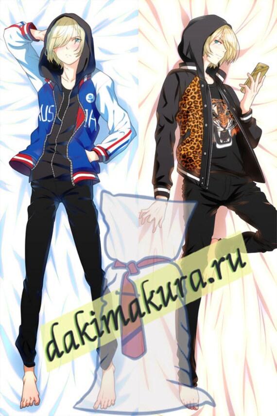 Anime Yuri On Ice Yuri Plisetsky Dakimakura 50x150cm