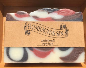 Patchouli Scented Soap