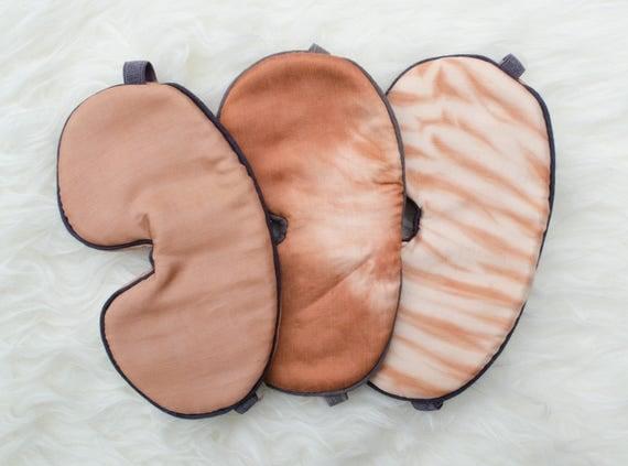 Cutch Sleep Mask, Organic Sleep Mask, blindfold, travel gift, travel mask, Gift for Her, Sleep Aid