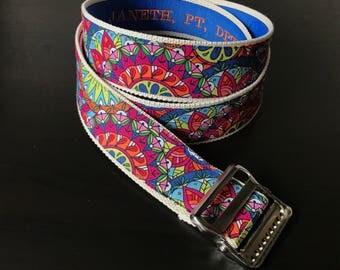 "High Quality Custom Gait Belt and Badge Reel ""The Shannon"""