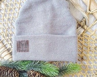 Hat mens fitted * gray medium