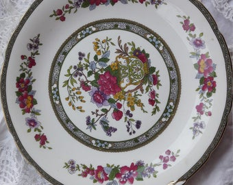 "Paragon "" tree of kashmir"" cake plate/ sandwich plate/"