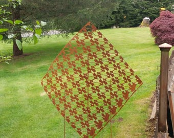 Recycled Repurposed Garden Trellis.   Large plant trellis or Privacy Screen Panel