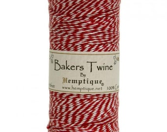 Red Twine Baker's Twine cotton twin heads, 125 m code: NM-BTS2-9314