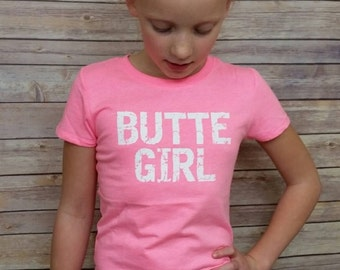 The Butte Girl Youth Tee