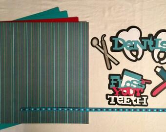 Dentist Scrapbooking Kit