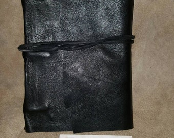 Genuine leather notebook