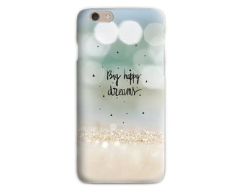 Sand iPhone 6 case Beach iphone 5 case Green Pastel Soft case Quote iPhone 5 Abstract Sand Sparkle Gift for girls Gift for her Wifes gift