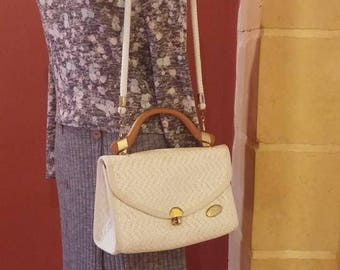 Vintage Made-In-Italy Handbag