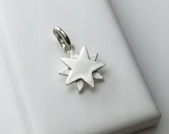 Starbright Charm in Sterling Silver