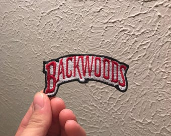 Backwoods Embroidered Patch