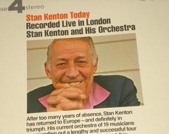 Stan Kenton record album, Stan Kenton Today vintage vinyl record
