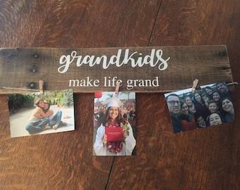 Grandparents picture sign