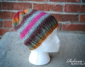 Colorful Soft Knitted Hat Beanie