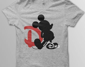 Disney shirt adult Mickey Mouse mens Disney Dad shirt Mickey Dad shirt