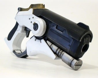 Mercy Caduceus Blaster from Overwatch [Fan-art]