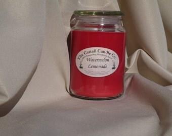 Watermelon Lemonade - 100% Soy Candle, 24 fl oz