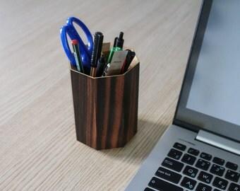 Desk Organizer / Wooden Desk Organizer / Wooden Box / Wooden Tray / Desk Storage / Office Organizer