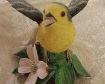 Vintage Lenox Yellow Warber