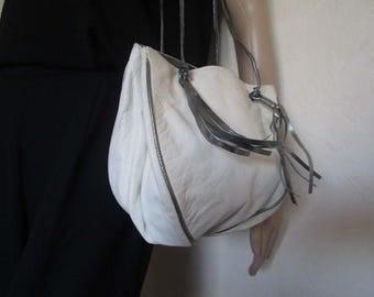 Vintage 80s leather bag bag bag leather bag