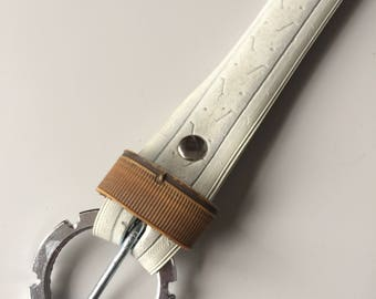 White bicycle tire/tyre belt