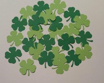 300 Four Leaf Clover Confetti, Shamrock Confetti, Clover Confetti, St. Patrick Day Confetti