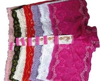 Lace Boyshorts 6 Variety Pack - Plus Sizes
