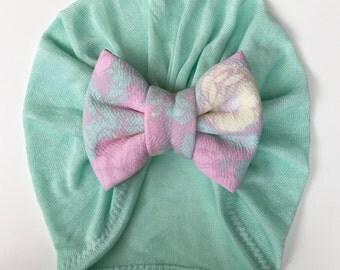 Easter turban bow