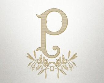 Monogram Logo Design - Naples Branch -  Logo Design - Digital
