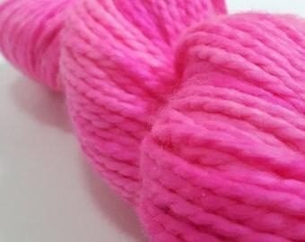 """Hand Dyed Yarn - Superwash - Bulky - 80/20 Superwash Merino/Nylon - Tonal - """"M'Lady"""""""