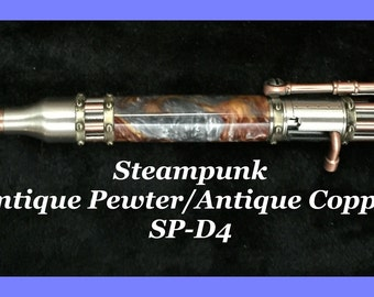 Bolt-Action Steampunk Pen