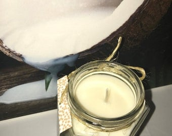 Country Coconut - Pure Soy Candle Scented