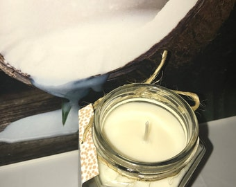 SALE!!! 1.00 OFF Country Coconut - Pure Soy Candle Scented