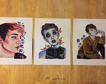 Moodly Adrogynous Prints